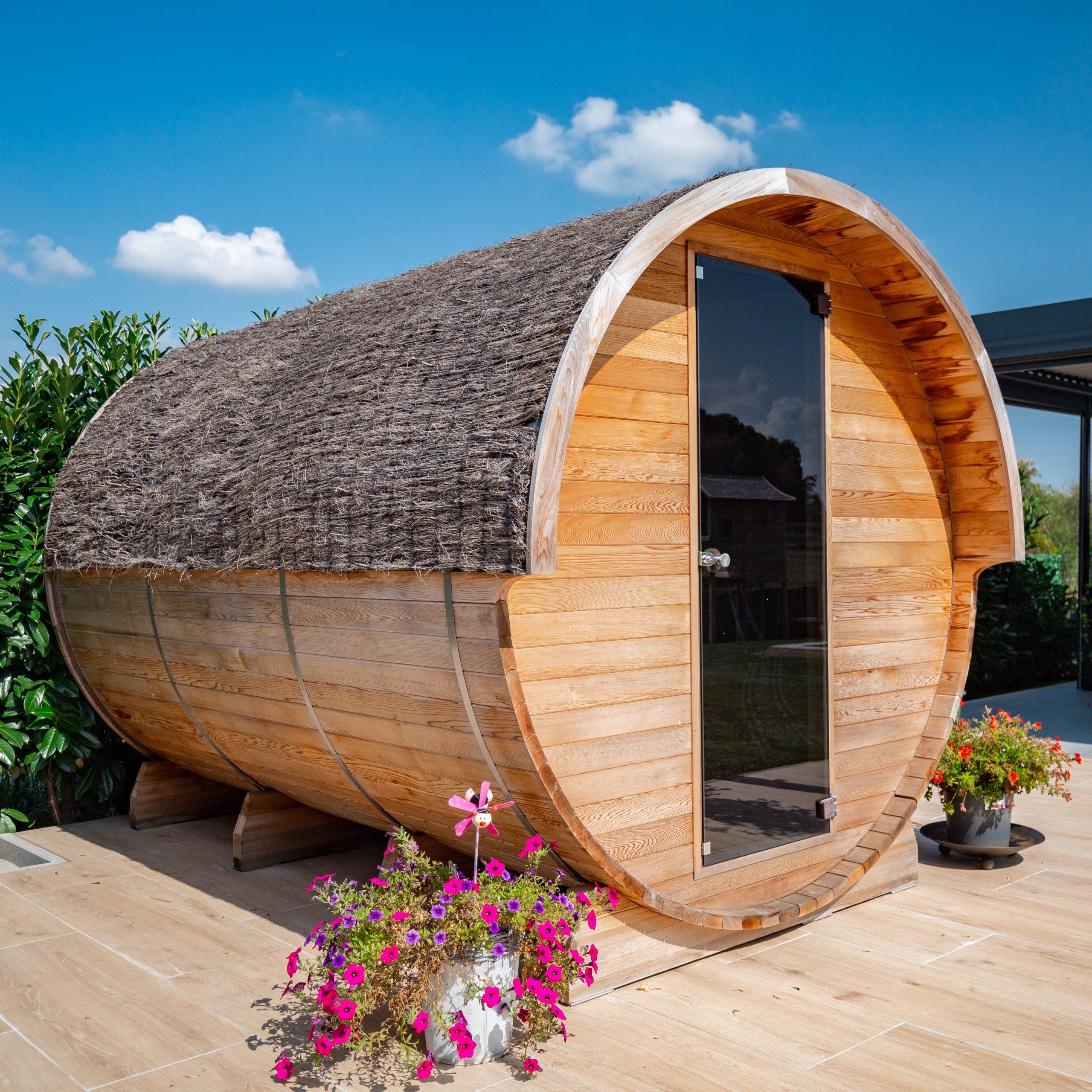 Infrared/Stove Heated Combination Sauna